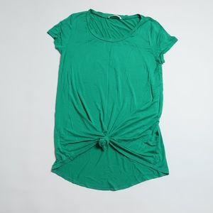 Chris & Carol green long t-shirt Sz: L